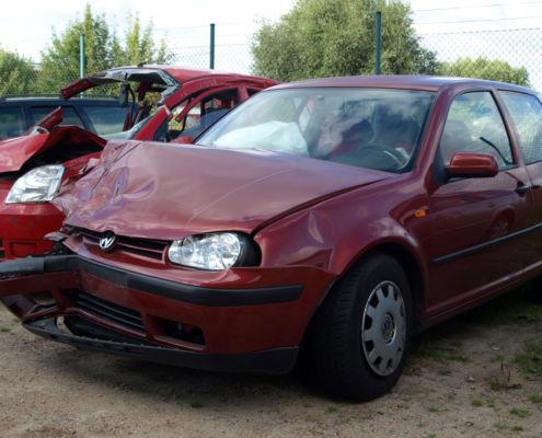 Frontschaden Auto Gutachten