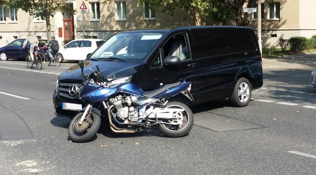 Motorrad Unfall Berlin